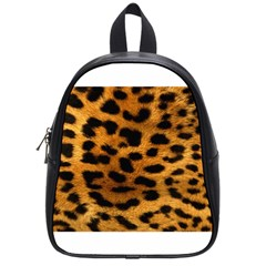 Leopardprint School Bag (small) by centralcharms1