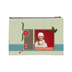 Xmas By Xmas   Cosmetic Bag (large)   J7cz6i8fiqf7   Www Artscow Com Back