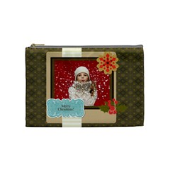 Xmas By Xmas   Cosmetic Bag (medium)   Pop3i3c2ehpk   Www Artscow Com Front