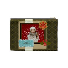 Xmas By Xmas   Cosmetic Bag (medium)   Pop3i3c2ehpk   Www Artscow Com Back