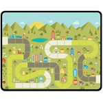 playground - Fleece Blanket (Medium)