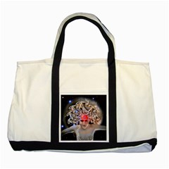 Medusa Two Toned Tote Bag by icarusismartdesigns