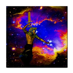 Star Fighter Ceramic Tile by icarusismartdesigns