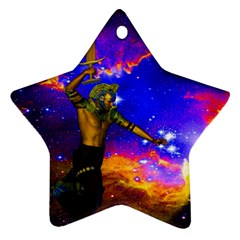 Star Fighter Star Ornament by icarusismartdesigns