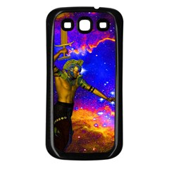 Star Fighter Samsung Galaxy S3 Back Case (black) by icarusismartdesigns