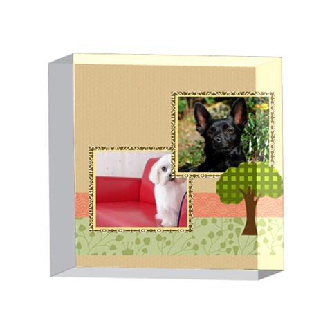 Pet By Pet    4 x 4  Acrylic Photo Block   W4iageh088wh   Www Artscow Com Front
