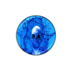 Alien Blue Golf Ball Marker 10 Pack (for Hat Clip) by icarusismartdesigns