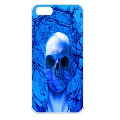 Alien Blue Apple Iphone 5 Seamless Case (white) by icarusismartdesigns