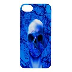Alien Blue Apple Iphone 5s Hardshell Case by icarusismartdesigns