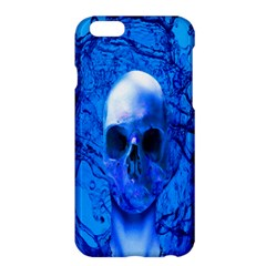 Alien Blue Apple Iphone 6 Plus Hardshell Case by icarusismartdesigns