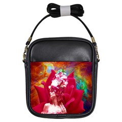 Star Flower Girl s Sling Bag by icarusismartdesigns