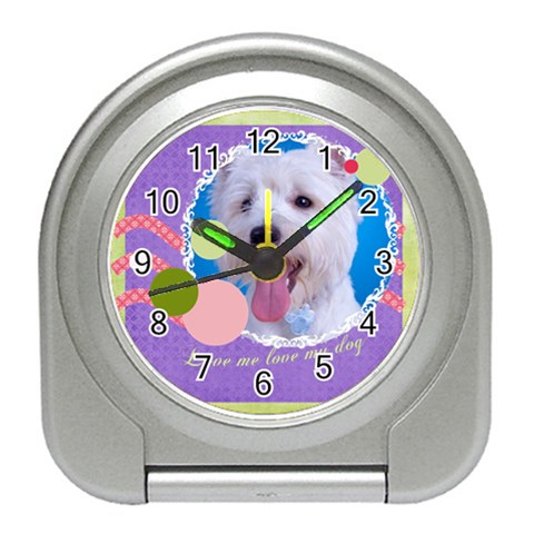 Pet By Pet    Travel Alarm Clock   H484anyxt61p   Www Artscow Com Front