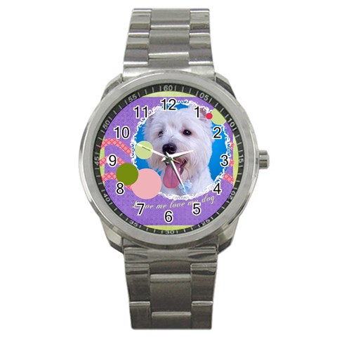 Pet By Pet    Sport Metal Watch   A6omijdslngw   Www Artscow Com Front