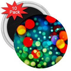 A Dream Of Bubbles 3  Button Magnet (10 Pack) by sirhowardlee