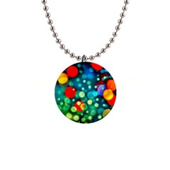 A Dream Of Bubbles Button Necklace by sirhowardlee