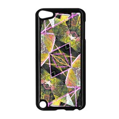 Geometric Grunge Pattern Print Apple Ipod Touch 5 Case (black) by dflcprints