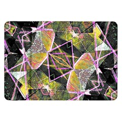 Geometric Grunge Pattern Print Samsung Galaxy Tab 8 9  P7300 Flip Case by dflcprints