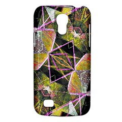 Geometric Grunge Pattern Print Samsung Galaxy S4 Mini (gt I9190) Hardshell Case  by dflcprints