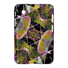 Geometric Grunge Pattern Print Samsung Galaxy Tab 2 (7 ) P3100 Hardshell Case  by dflcprints