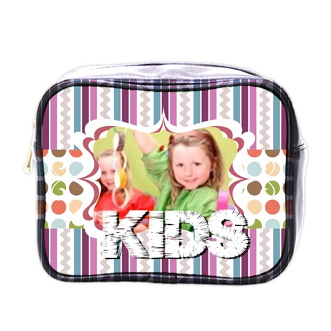 Xmas By Mac Book   Mini Toiletries Bag (one Side)   S0f4efjcsly1   Www Artscow Com Front