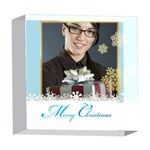 xmas - 5  x 5  Acrylic Photo Block