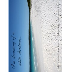Jervis Bay Christmas Card By Stephanie   Greeting Card 4 5  X 6    Wvjishbbhkzb   Www Artscow Com Front Cover