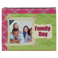 Family By Family   Cosmetic Bag (xxxl)   G4y7pcw9ckqp   Www Artscow Com Front