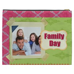 Family By Family   Cosmetic Bag (xxxl)   G4y7pcw9ckqp   Www Artscow Com Back