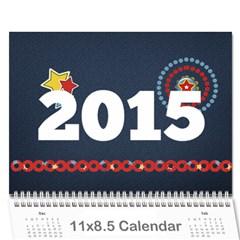 Grandma2014 By Karen   Wall Calendar 11  X 8 5  (12 Months)   Jk2eglfyoofd   Www Artscow Com Cover