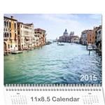 Calendar2015 - Wall Calendar 11  x 8.5  (12-Months)