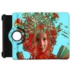 Flower Horizon Kindle Fire Hd Flip 360 Case by icarusismartdesigns