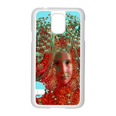 Flower Horizon Samsung Galaxy S5 Case (white) by icarusismartdesigns