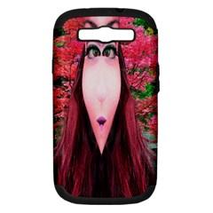 Tree Spirit Samsung Galaxy S Iii Hardshell Case (pc+silicone) by icarusismartdesigns