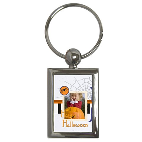 Halloween By Helloween   Key Chain (rectangle)   1vhz1xzta3vw   Www Artscow Com Front
