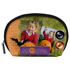 Halloween By Helloween   Accessory Pouch (large)   6hai40sjkqg2   Www Artscow Com Front