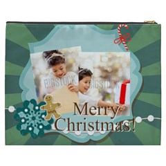 Xmas By Xmas4   Cosmetic Bag (xxxl)   6h1kqy7f3701   Www Artscow Com Back