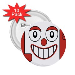 Laughing Out Loud Illustration002 2 25  Button (10 Pack) by dflcprints