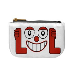 Laughing Out Loud Illustration002 Coin Change Purse by dflcprints