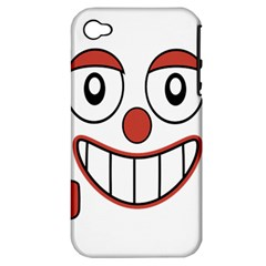Laughing Out Loud Illustration002 Apple Iphone 4/4s Hardshell Case (pc+silicone) by dflcprints