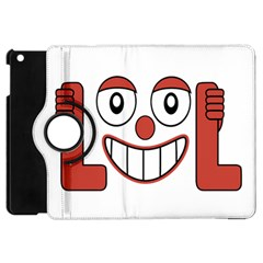 Laughing Out Loud Illustration002 Apple Ipad Mini Flip 360 Case by dflcprints