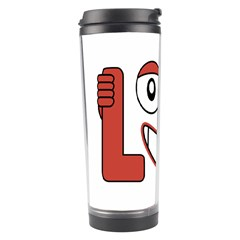 Laughing Out Loud Illustration002 Travel Tumbler by dflcprints