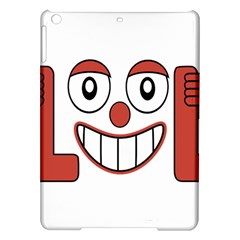 Laughing Out Loud Illustration002 Apple Ipad Air Hardshell Case by dflcprints