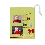 xmas - Drawstring Pouch (Large)