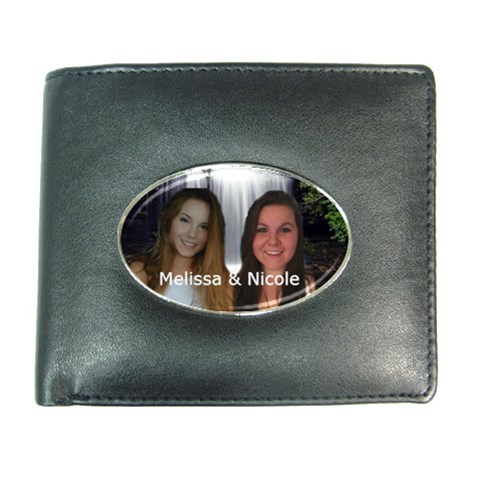 Nicoleandmelissa By Colleen Pike   Wallet   L8ch1xujd4c1   Www Artscow Com Front