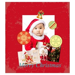 Xmas By Xmas   Drawstring Pouch (large)   Yfft6kllwe3p   Www Artscow Com Front