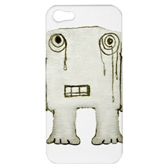 Sad Monster Baby Apple Iphone 5 Hardshell Case by dflcprints