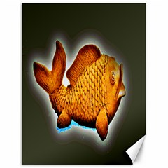 Goldfish Canvas 12  X 16  (unframed) by sirhowardlee