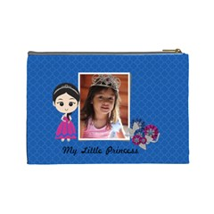 Cosmetic Bag (l): My Little Princess By Jennyl   Cosmetic Bag (large)   Jadc1gsep1bg   Www Artscow Com Back