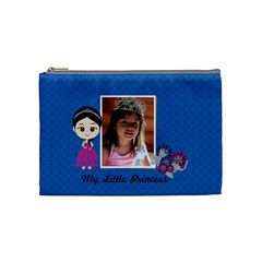 Cosmetic Bag (m): My Little Princess By Jennyl   Cosmetic Bag (medium)   Yvd1if9kojy5   Www Artscow Com Front