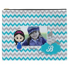 Cosmetic Bag (xxxl): Little Girl By Jennyl   Cosmetic Bag (xxxl)   9qdz26xrmmdo   Www Artscow Com Front